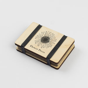Pocket Flower Press - Line