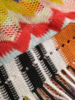 MISSONI MARE ZIG ZAG PATTERN BEACH COVER