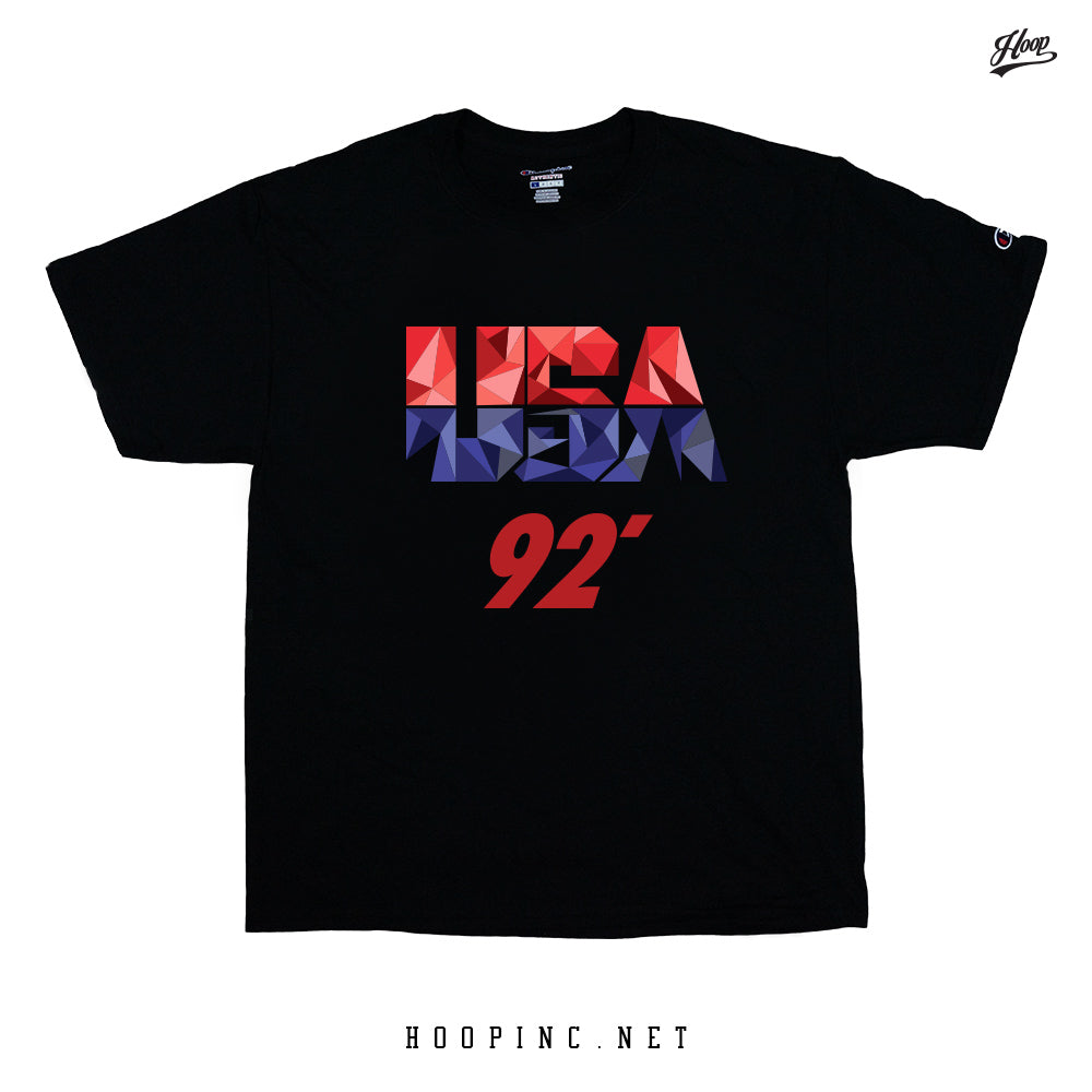 """USA 92' BIG LOGO"" Tee And Sleeveless tee"