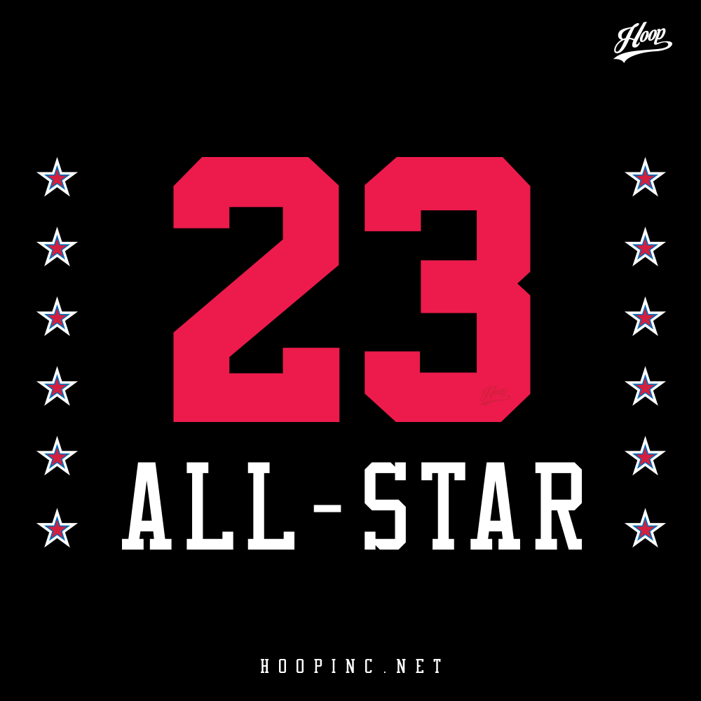 All-Star #23 Hoodies in Black