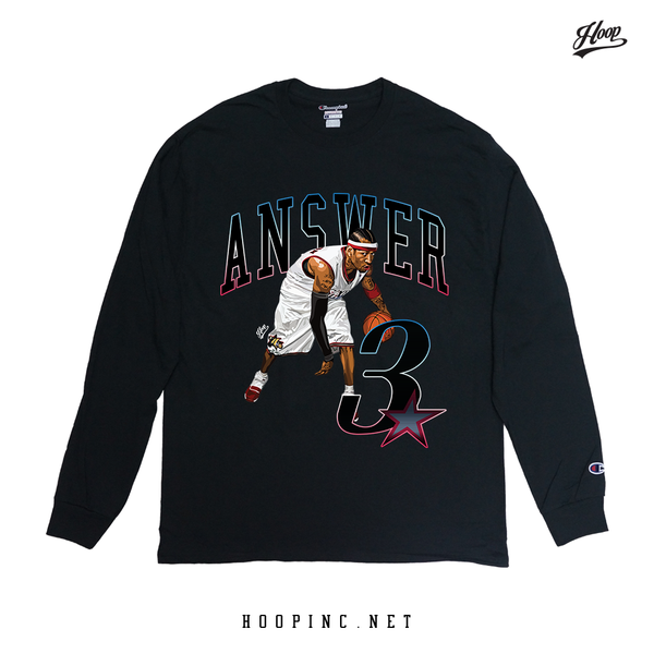 """ANSWER 3"" long sleeve tee"