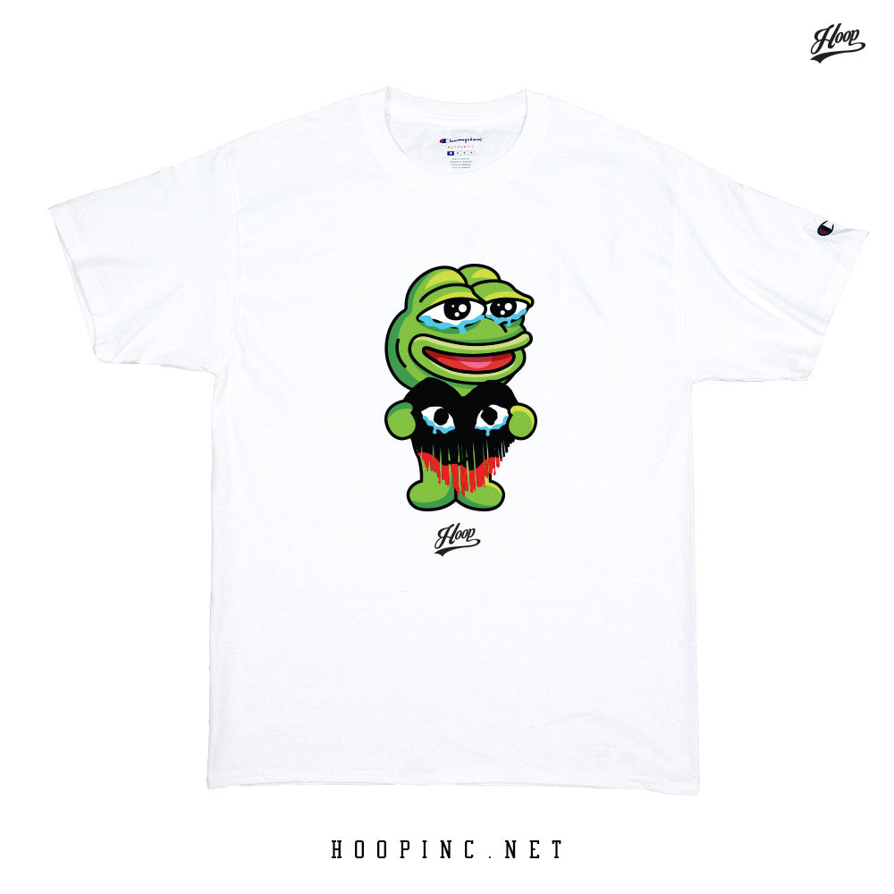 """KERO-PEPE #HeartBleed"" tee"