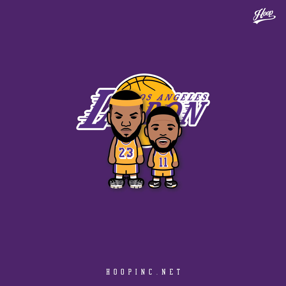 """Imagine LAbron and Uncle Drew."" tee and sleeveless"