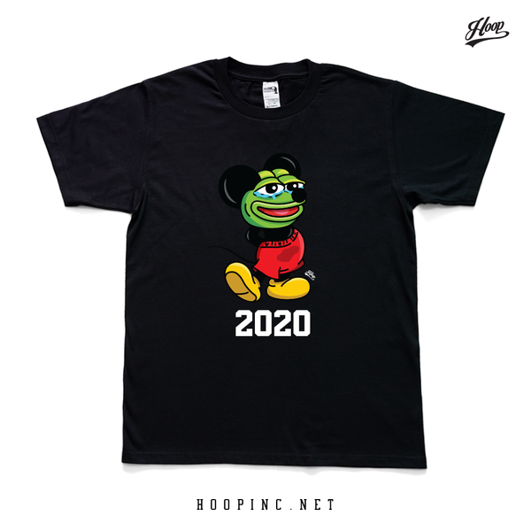 """KERO-PEPE #2020 YEAR OF THE RAT"" tee #1"