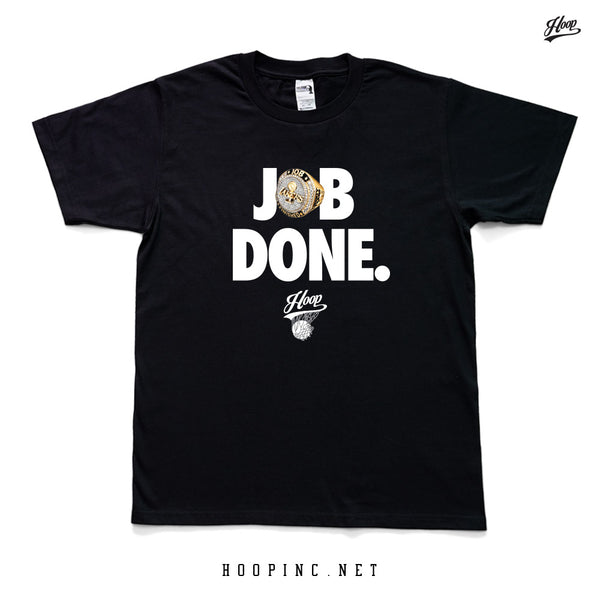 """JOB DONE."" tee / sleeveless tee"