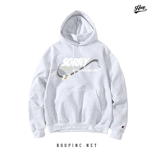 """Better Luck Next Time, SOR-CA-RI"" White Grey Hoodie"