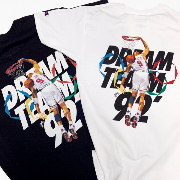 """USA 92' DREAM TEAM"" tee"