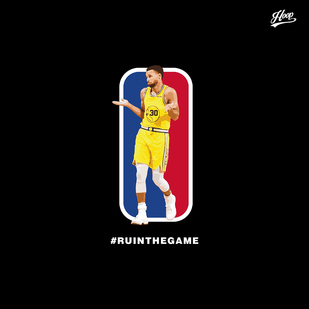 New Logo Man #RUINTHEGAME tee and sleeveless