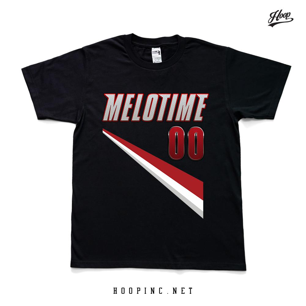 """MELO TIME"" short sleeve and sleeveless tee"