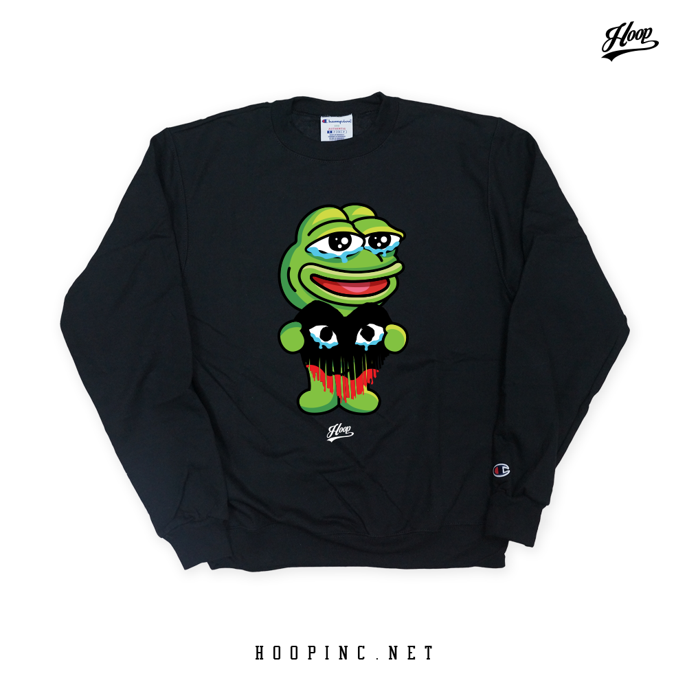 """KERO-PEPE #Heartbleed"" Sweater"