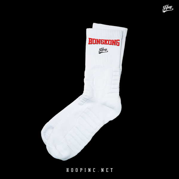 """Hong Kong"" socks red"