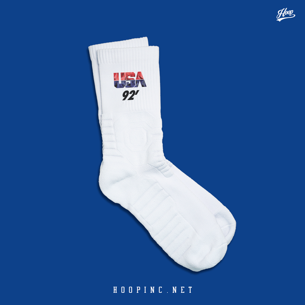 """USA 92"" socks"