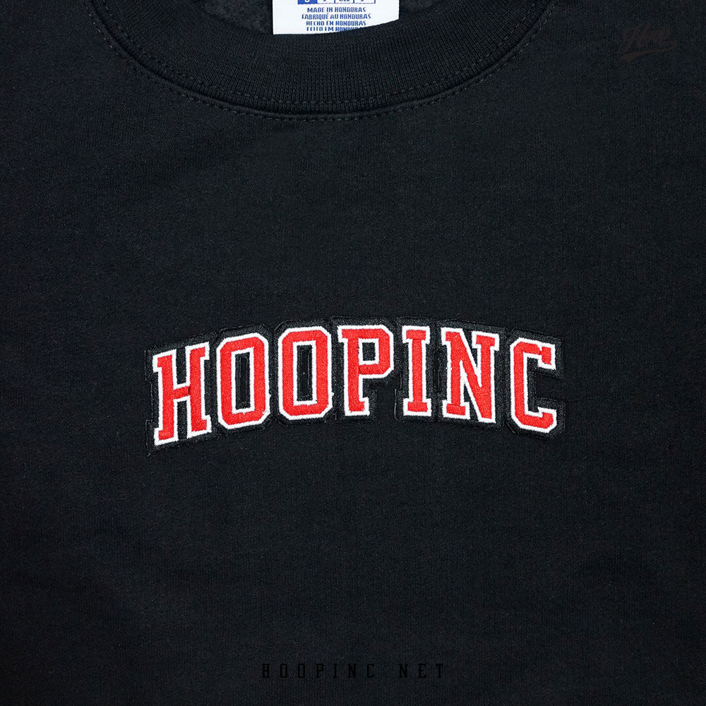 """HOOPINC"" embroidery logo sweater"