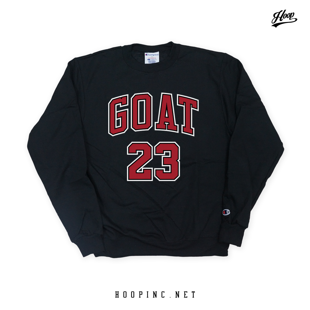 """GOAT #23"" sweater"