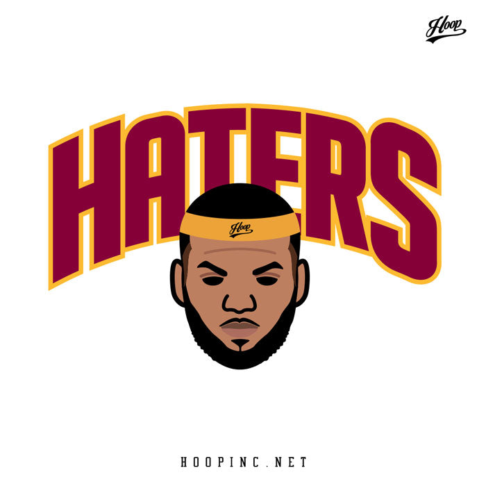 """Haters from the heart"" tee"