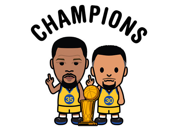 NBA Finals 2017 Champion tee by Hoop Inc