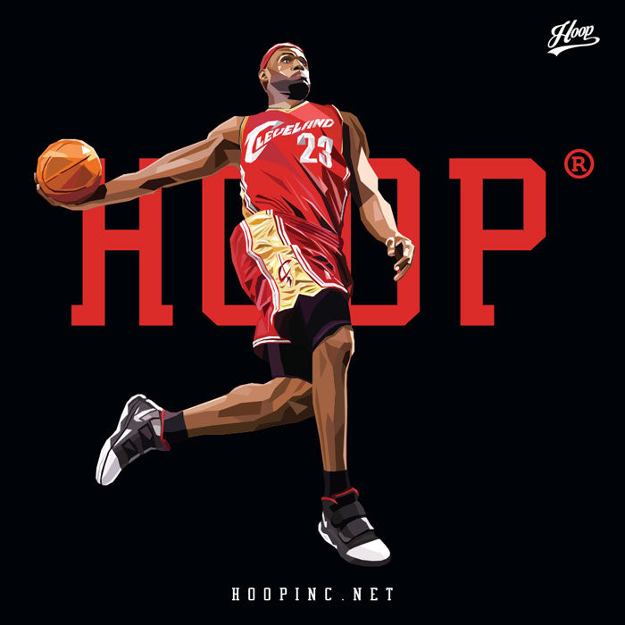 """HOOP YOUNG KING #23"" tee"
