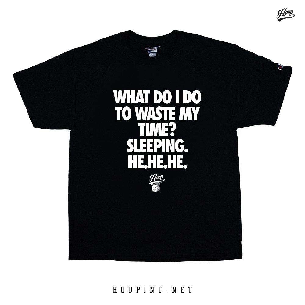"""What time is it?"" tee"