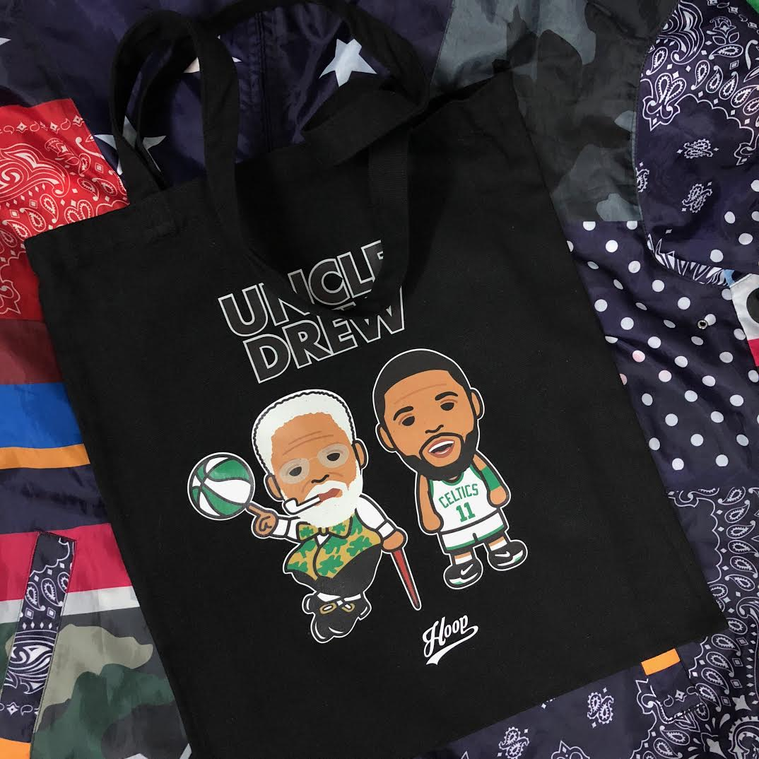 """Uncle Drew"" tote bag"
