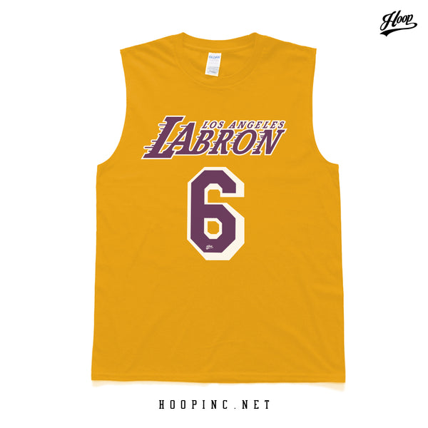 """LABron #6."" tee and sleeveless"