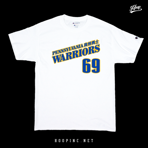 """Pennsylvania Warriors 賓州勇士"" tee"