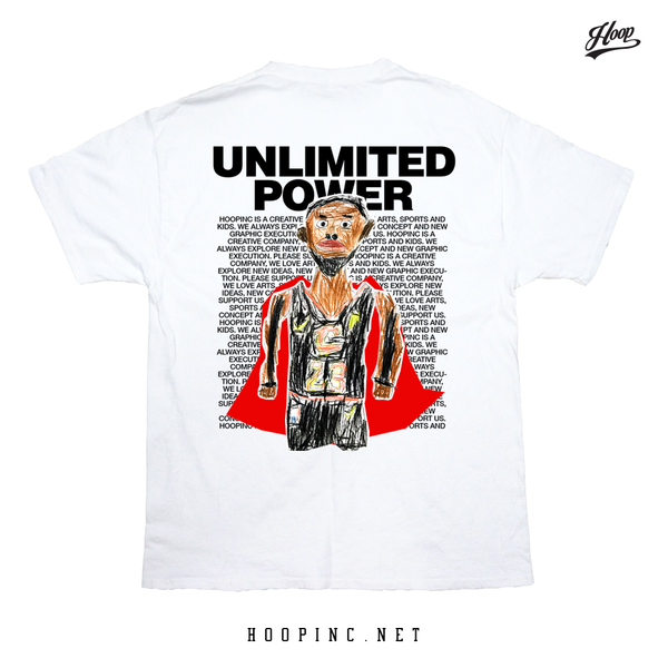 """Unlimited Power"" tee"