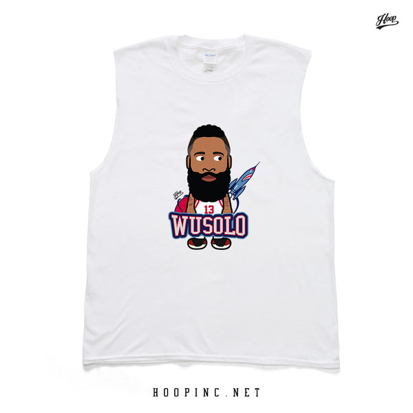 """WUSOLO"" tee and sleeveless"
