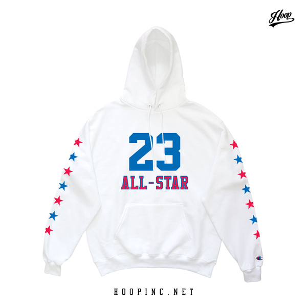 All-Star #23 Hoodies in White