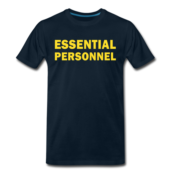 ESSENTIAL PERSONNEL - deep navy