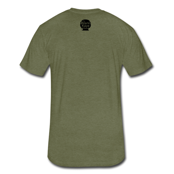 Trump Quote Shirt - heather military green