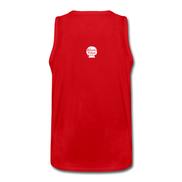 Keep America Great Muscle Shirt - red