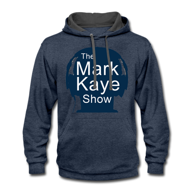 Mark Kaye Show Blue/Gray Hoodie - indigo heather/asphalt