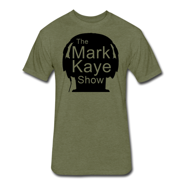 Military Style Mark Kaye Show Tee - heather military green