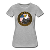 JOE EAGLE Women's Tee - heather gray