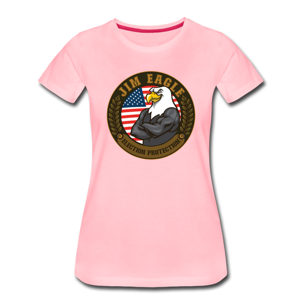 JOE EAGLE Women's Tee - pink