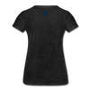 JOE EAGLE Women's Tee - charcoal gray