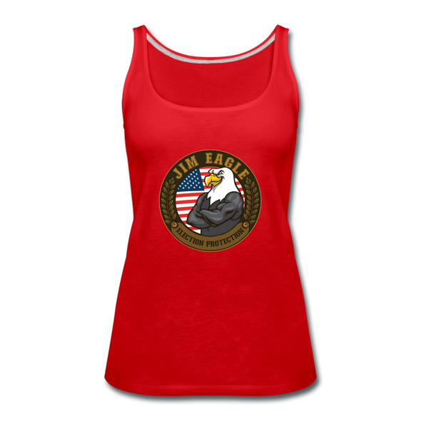 Women's JIM EAGLE Tank - red