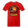 OASIS OF FREEDOM - red