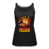 WOMEN'S OASIS OF FREEDOM TANK - black