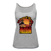 WOMEN'S OASIS OF FREEDOM TANK - heather gray
