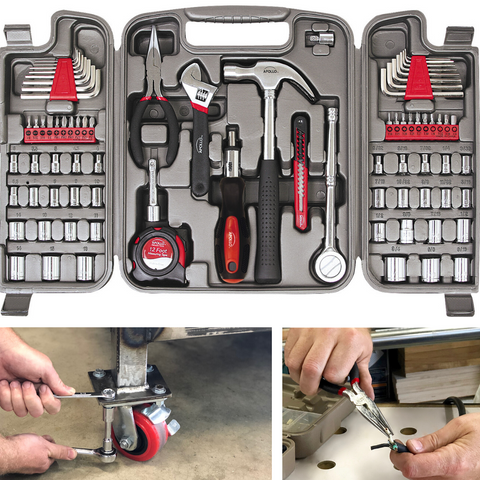 mechanics tool set complete tool set for garage, mechanics, Rv, motorcycle in SAE and Metrics