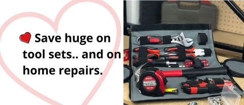 roll up tool kit apollo tools valentines day