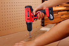 10.8 V Lithium-Ion Cordless Drill drilling wood Apollo Tools -- DT4937