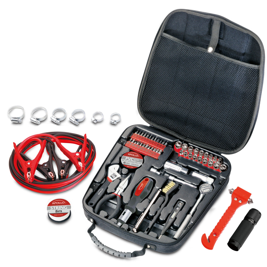 64 Piece Travel & Automotive Tool Kit - DT0101