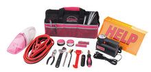 54 Piece Roadside Tool Kit with Vacuum & Compressor Pink - DT0515P