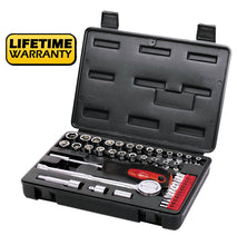 socket case in carrying case lifetime warranty