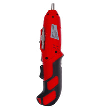 alternate angle position for 4.8 Volt Rechargeable Cordless Screwdriver red