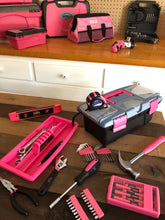 53 Piece Household Tool Kit with Tool Box Pink- DT9773P