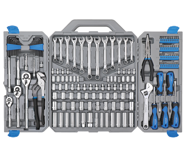 163 Piece Mechanics Tool Kit -- DT0002
