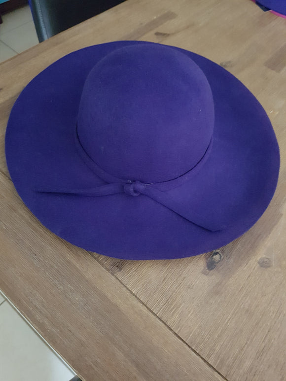 Purple Floppy Hat